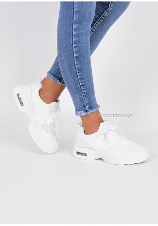 White Air Bubble Trainers