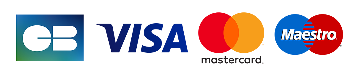 payment by card visa and maestro